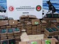 Mersin'de yarım ton kokaine daha el kondu