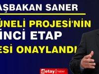 Başbakan Saner:Su Tüneli Projesi'nin 100 Milyon TL'lik İkinci Etap İhalesi Onaylandı
