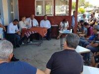 Bayındırlık ve Ulaştırma Bakanı Canaltay, Karpaz Bölgesinde Yapılacak Yol Çalışmalarını İnceledi