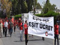 KTÖS, Polis Müdürlüğü, Meclis ve Eğitim Bakanlığı önünde eylem yaptı