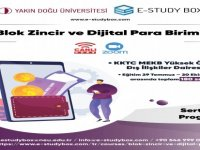 """Yakın Doğu Üniversitesi ve E-Study Box iş birliğinde düzenlenecek """"Blok Zincir ve Dijital Para Birimi"""" sertifika programı 29 Temmuz'da başlıyor"""