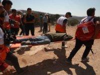 İsrail askerlerinden Filistinlilere sert müdahale: 108 yaralı
