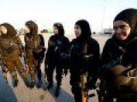Filistin'in gururu kadın komandolar