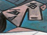Yıllar Sonra Bulunan Picasso Tablosu, Basın Toplantısında Yere Düşürüldü