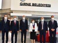 Türkiye Belediyeler Birliğinden Girne Belediyesine Ziyaret