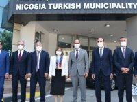 LTB Başkanı Harmancı, Türkiye'nin 5 Büyükşehir Belediyesinin Başkanları İle Biraraya Geldi