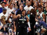 Milwaukee Bucks NBA şampiyonu