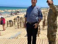 """Tatar'dan Bayram'da Maraş mesajı: """"Maraş'ta sahilde, deniz gerçekten çok güzel, plaj şahane"""""""