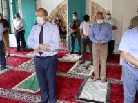 Kapalı Maraş'ta 47 Yıl Sonra İbadete Açılan Bilal Ağa Mescidinde İlk Cuma Namazı Kılındı