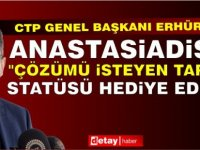 Erhürman: Kıbrıslı Türler uluslararası hukukun ve uluslararası toplumun parçası olmayı istiyor