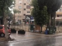 Lefkoşa bölgesinde yaz yağmuru yağdı