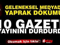 Pandemi Kıbrıs Türk geleneksel medyasını da vurdu! 10 Gazete vazgeçti!