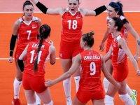 Türkiye A Milli Kadın Voleybol Takımı, Tokyo 2020'de İtalya'ya mağlup oldu