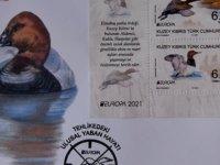 """Posta Dairesi, """"Tehlikedeki Ulusal Yaban Hayatı"""" konulu pul serisi ve ilk gün zarfı çıkardı"""