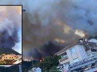 Marmaris'te orman yangını: Bir kişi hayatını kaybetti