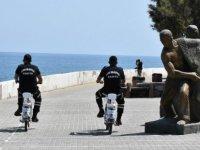 Girne Belediyesi Trafik Zabıta Ekipleri Çevreci Elektrikli Bisikletler ile Görevlerine Devam Ediyor