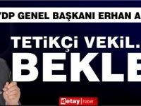 """Erhan Arıklı'dan Salahi Şahiner'e: """"Elinden geleni ardına koyarsan adam değilsin."""""""