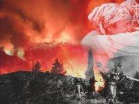 Milas'ta alevler termik santral yakınına ulaştı, bölge acilen boşaltıldı
