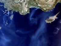 Türkiye'deki yangının boyutu uydudan görüntülendi