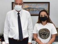 Epilepsi İle Yaşam Derneği Kurucu Başkanı, Girne Belediye Başkanını Ziyaret Etti.