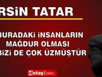 Cumhurbaşkanı Tatar, Manavga'ta Açıklamalarda Bulundu