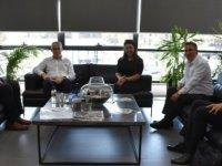 Girne Belediye Başkanı Güngördü, Sanayi Odası Başkanı ve Heyetini Kabul Etti
