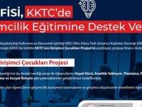 """KEİ'den  """"KKTC'nin Girişimci Çocukları Projesi""""ne finans desteği"""