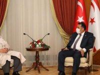 Başbakan Saner Din İşleri Başkanı Ünsal'ı Kabul Etti