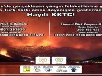 Bazı Oda ve Birlikler Türkiye'deki Orman Yangınlarına Karşı Yürütülen Mücadeleye Destek Kampanyası Başlattı