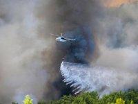 Yangına havadan müdahale neden yetersiz kaldı?
