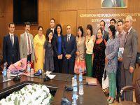Dış Basın Birliği, Dünya Genç Yazarlar Birliği Toplantısı'na katıldı