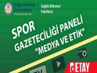 DAÜ'de Medya ve Etik Konuşulacak