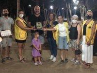 Mağusa Kale Lions Kulübü'nden caretta etkinliği