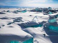 Rusya'da her yıl milyarlarca ton buzul eriyor