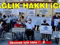 Sağlık Dernekleri Platformu, sağlık hakkı için yürüdü