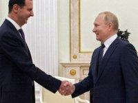 """Putin, Suriye'de """"yabancı güçlerin"""" bulunmasını eleştirdi"""