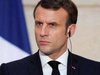 Macron: Taliban'ın terör örgütleriyle ilişkisi konusunda özellikle dikkatli olacağız