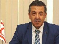 Dışişleri Bakanı Ertuğruloğlu, New York temasları öncesinde değerlendirmelerde bulundu