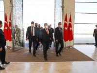 Başbakan Saner Ankara'da, Fuat Oktay ile görüşecek