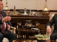 Basbakan Saner TC Cumhurbaskan Yardımcısı  Oktay ile bir araya geldi