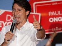 Kanada'da seçimin galibi Trudeau