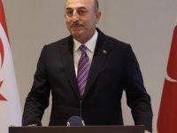 Çavuşoğlu: Milli davamız Kıbrıs'ı birlikte sonuna kadar savunmaya devam edeceğiz