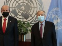 Guterres Tatar'ı kabul etti