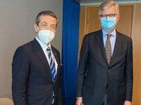 Ertuğruloğlu BM yetkilisi Lacroix'le bir araya geldi