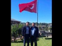Fikri Ataoğlu'ndan sonra Ersan Saner de İstanbul vekilimiz Özgürgün'ü ziyaret etti