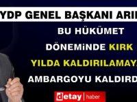 YDP Genel Başkanı Arıklı, Girne bölge halkı ile bir araya geldi…