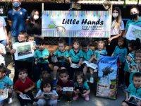 Öğrencilerden Lefkoşa Hayvan Barınağı'na ziyaret
