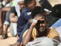 Libya'da göçmenler ülkeden güvenli çıkış istiyor