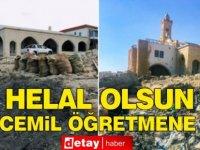 Belediye ve Çevre Dairesi'nin yapamadığını Cemil Öğretmen yaptı