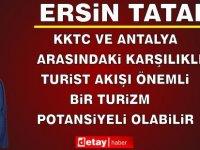 Cumhurbaşkanı Tatar, Antalya İş İnsanları Derneği Yetkililerini Kabul Etti